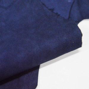 Велюр МРС (коза), синий, 39 дм2.-107068