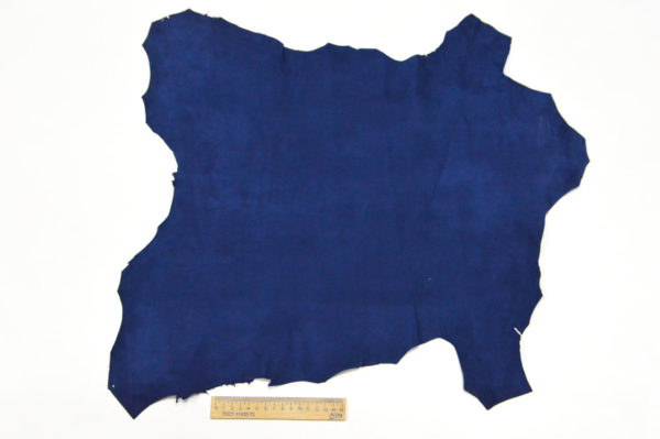 Велюр МРС (коза), синий, 26 дм2.-107070