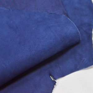 Велюр МРС (коза), синий, 27 дм2.-107071