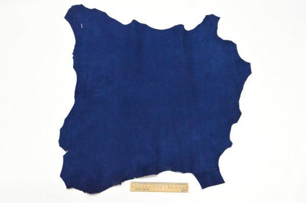 Велюр МРС (коза), синий, 28 дм2.-107072