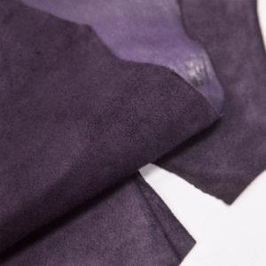 Велюр МРС (коза), фиолетовый, 33 дм2.-107079