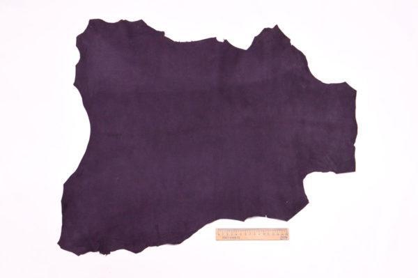 Велюр МРС (коза), фиолетовый, 31 дм2.-107080