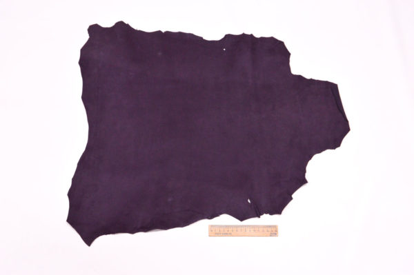 Велюр МРС (коза), фиолетовый, 31 дм2.-107081