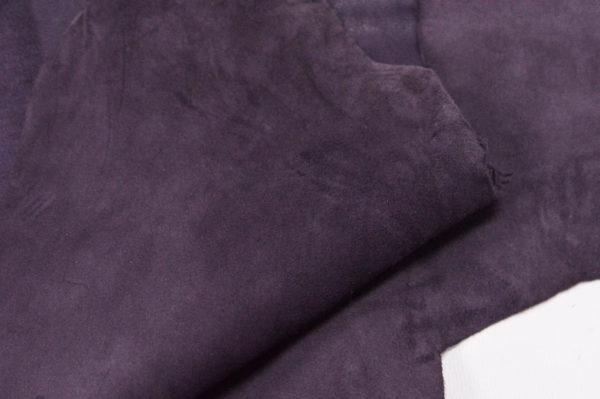 Велюр МРС (коза), фиолетовый, 34 дм2.-107084