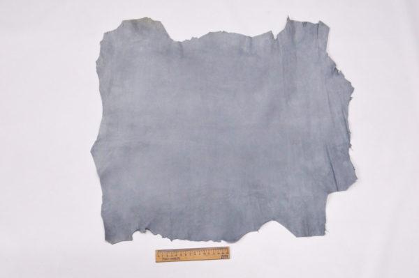 Велюр МРС (коза), серо-голубой, 35 дм2.-107085