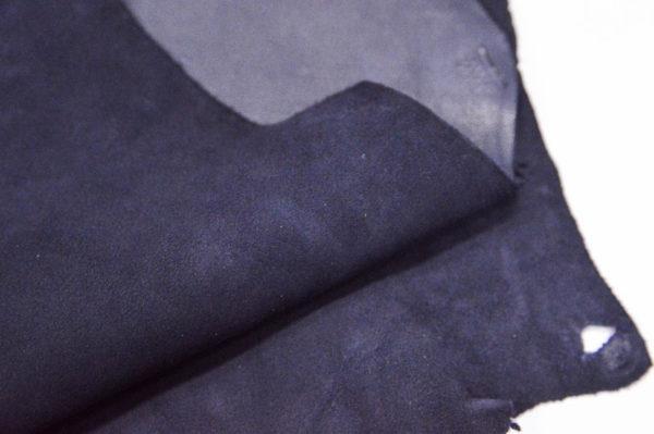 Велюр МРС (коза), тёмно-синий, 37 дм2.-107089