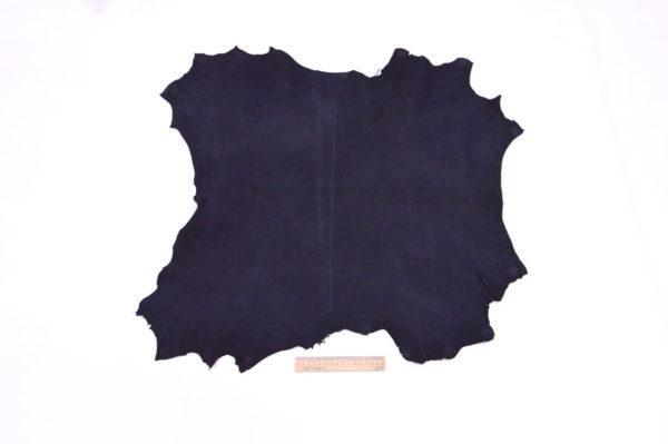 Велюр МРС (коза), тёмно-синий, 32 дм2.-107091