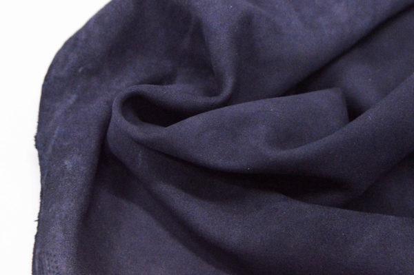 Велюр МРС (коза), тёмно-синий, 43 дм2.-107092