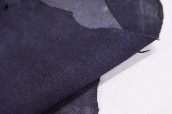 Велюр МРС (коза), тёмно-синий, 34 дм2.-107093