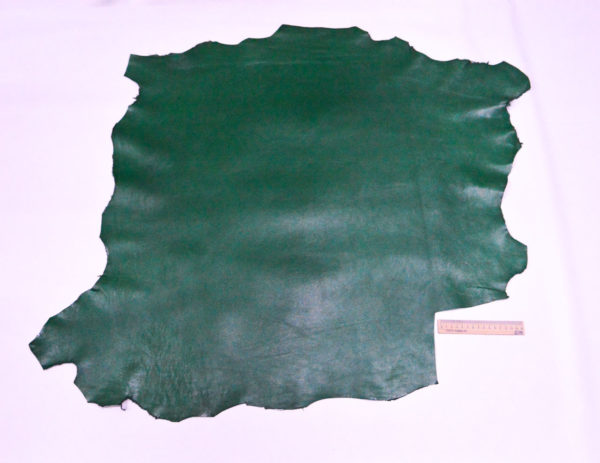 Кожа МРС (метис), зелёная, 60 дм2.-107129