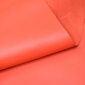 Кожа МРС, морковная, 46 дм2.-107133