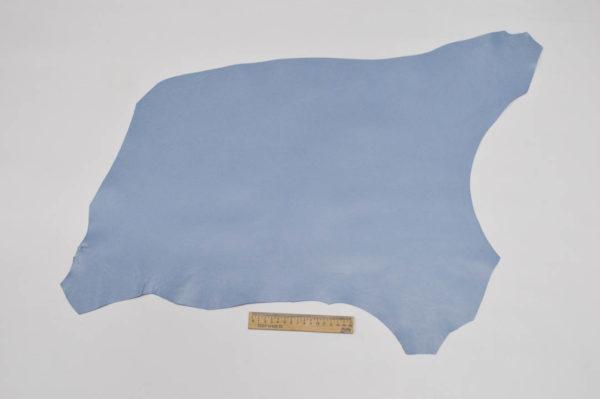 Кожа МРС, голубая, 28 дм2.-107141