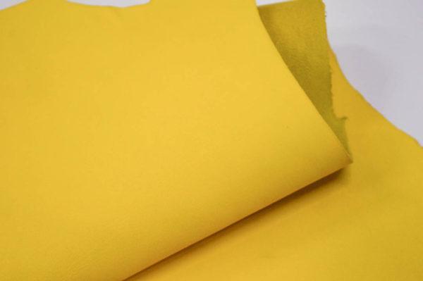 Кожа МРС, жёлтая, 24 дм2.-107146
