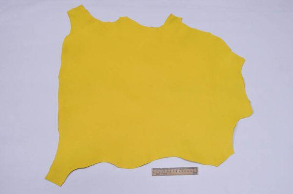 Кожа МРС, жёлтая, 41 дм2.-107150