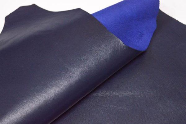 Кожа МРС, тёмно-синяя, 27 дм2.-107157