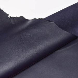 Кожа МРС, тёмно-синяя, 44 дм2.-107162
