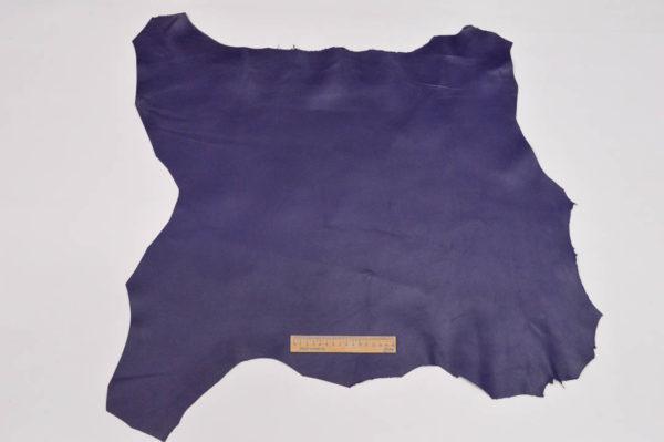 Кожа МРС, сине-фиолетовая, 40 дм2.-107165