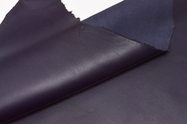 Кожа МРС, тёмно-синяя, 42 дм2.-107166
