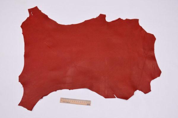 Кожа МРС, красная, 35 дм2.-107184