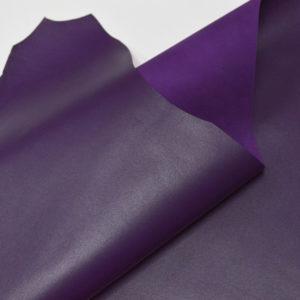 Кожа МРС, фиолетовая, 38 дм2.-107196