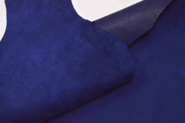 Велюр МРС (коза), тёмно-синий, 32 дм2.-107205