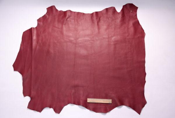 Кожа МРС (метис), бордовая, 70 дм2.-107213