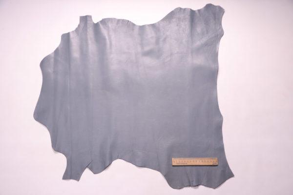 Кожа МРС, серо-голубая, 45 дм2.-107214