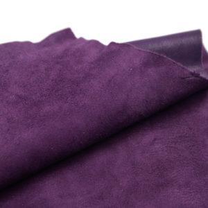 Велюр МРС (коза), фиолетовый, 42 дм2.-107216