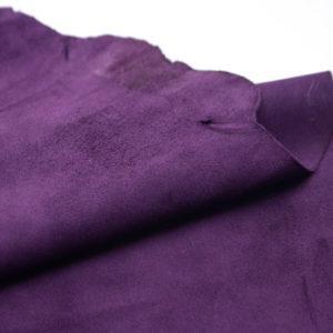 Велюр МРС (коза), фиолетовый, 39 дм2.-107217