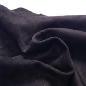 Велюр одёжный МРС, чёрный, 51 дм2.-107243