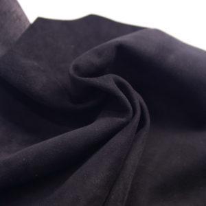 Велюр одёжный МРС, чёрный, 24 дм2.-107244