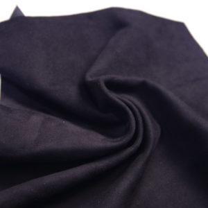 Велюр одёжный МРС, чёрный, 24 дм2.-107246