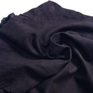 Велюр одёжный МРС, чёрный, 41 дм2.-107247