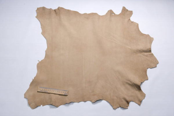 Велюр МРС, бежевый, 37 дм2, Conceria Stefania S.p.A.-107256