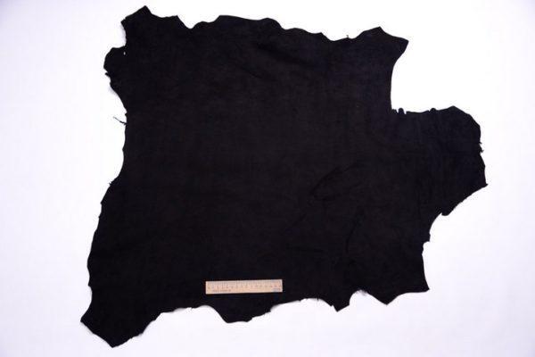 Велюр МРС (коза), чёрный, 55 дм2.-107282