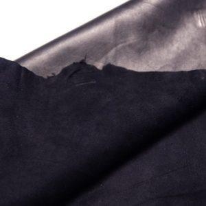Велюр МРС (коза), чёрный, 51 дм2.-107283