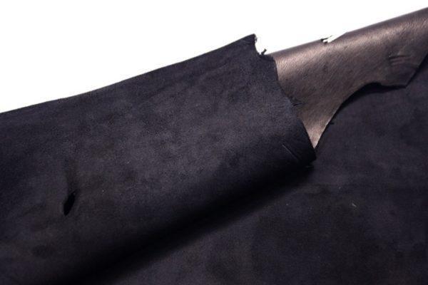 Велюр МРС (коза), чёрный, 39 дм2.-107285