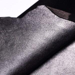 Велюр МРС (коза), графитовый металлик, 25 дм2.-107311