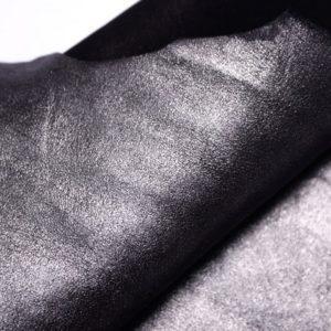 Велюр МРС (коза), графитовый металлик, 20 дм2.-107312