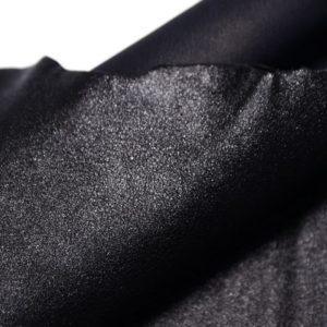 Велюр МРС (коза), чёрный металлик, 39 дм2, Conceria Gaiera GIOVANNI S.p.A.-107314