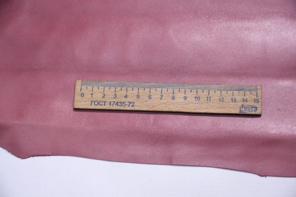 Кожа МРС, пионовая, 45 дм2, Glomer Pelli S.r.l.-107343