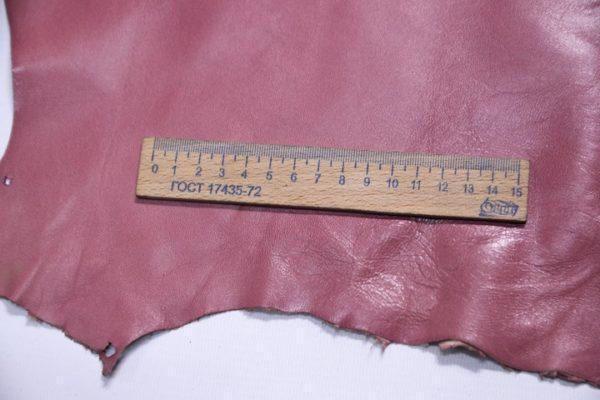 Кожа МРС, пионовая, 52 дм2, Glomer Pelli S.r.l.-107344