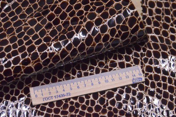 Лак МРС с тиснение, коричневый, 53 дм2.-108052