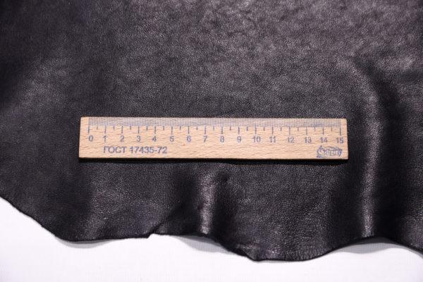 Кожа МРС (метис), чёрная, 49 дм2.-108064