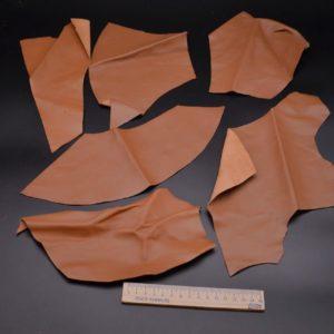 Кожа МРС, светло-коричневая, 13 дм2.-1-083