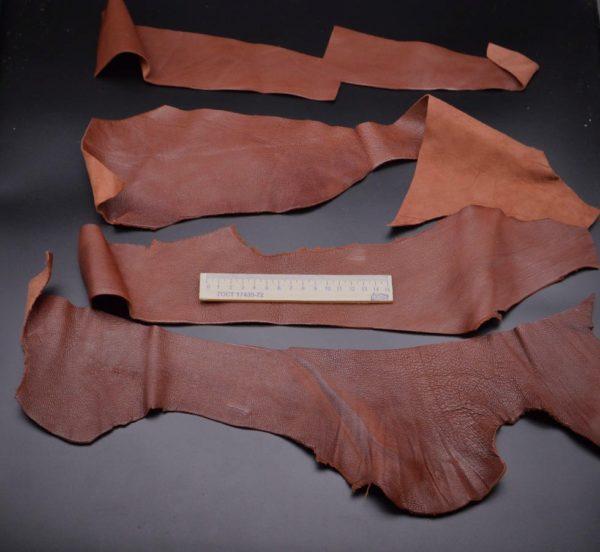 Кожа МРС, коричневая, 16 дм2.-1-087
