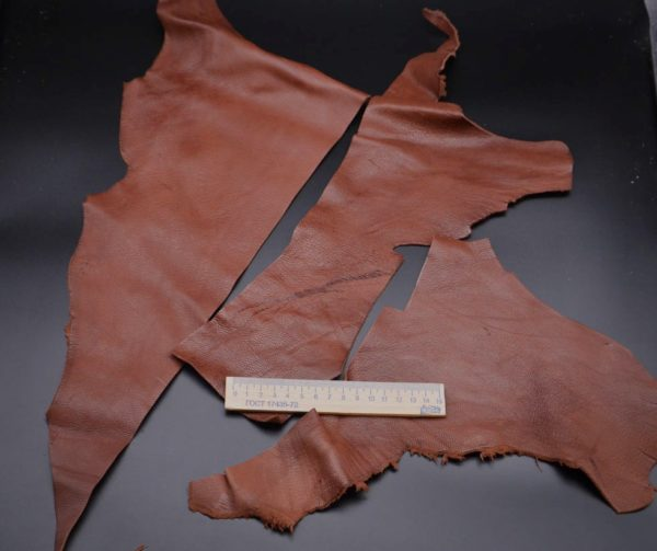 Кожа МРС, коричневая, 13 дм2.-1-089