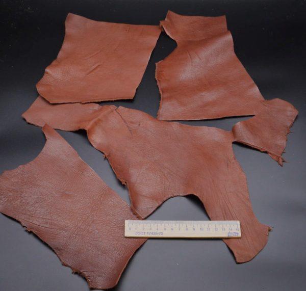 Кожа МРС, коричневая, 14 дм2.-1-091