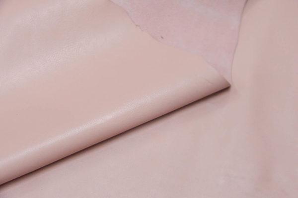 Кожа одёжная МРС, розовая-733