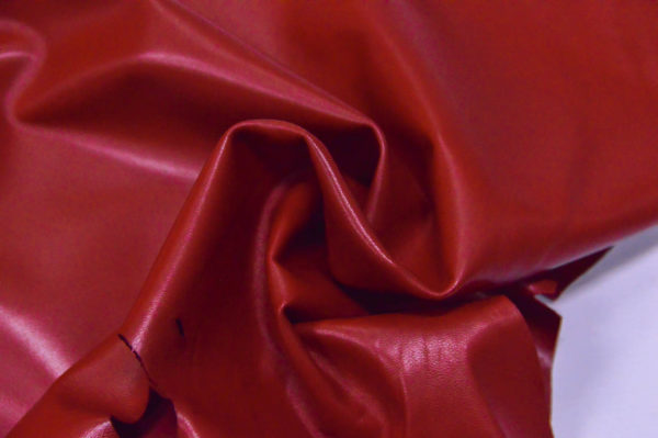 Кожа одёжная МРС, красная-750